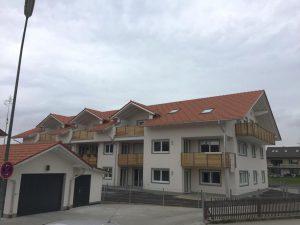 Neubau Mehrfamilienhaus KFW55 Putzbrunn  Energiekonzept KFW Begleitung