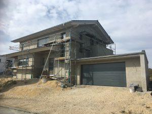 Neubau Einfamilienhaus KFW 55 Eigeltingen  Energiekonzept KFW Begleitung Blower-Door-Messung